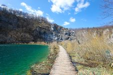 Free Plitvice Lakes In Croatia Royalty Free Stock Photos - 13816308