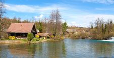 Free House On Water Stock Photos - 13816333