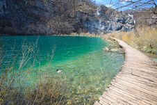 Free Plitvice Lakes In Croatia Stock Photos - 13816393