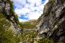 Free Canyon Anisclo - Spain Royalty Free Stock Image - 13816646