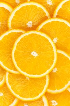 Free Orange Background Stock Photography - 13817162