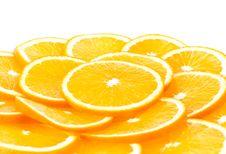 Free Sliced Orange Stock Photography - 13817212