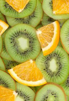 Free Sliced Fruits Royalty Free Stock Image - 13818866