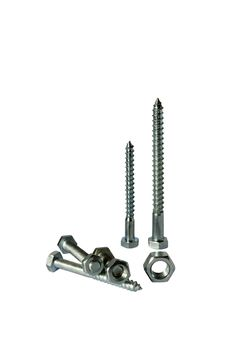 Assorted Screws Nuts And Bolts Royalty Free Stock Photos