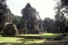 Free Temple Complex, Cambodia Stock Photos - 13819083