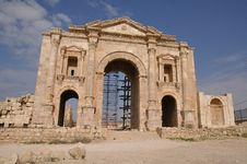 Free Hadrian S Arch Of Triumph Royalty Free Stock Photo - 13819255