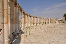 Free Forum In Jerash Stock Photos - 13819283