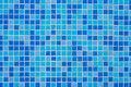 Free Blue Tiles Wall Royalty Free Stock Photos - 13825458