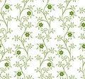 Free Flower Seamless Pattern Stock Photos - 13826563