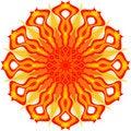 Free Decorative Sun Royalty Free Stock Image - 13827246