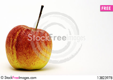 Free Red Apple Royalty Free Stock Photos - 13823978