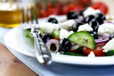 Free Greek Salad Stock Image - 13820341
