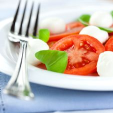 Free Caprese Salad Royalty Free Stock Image - 13820556