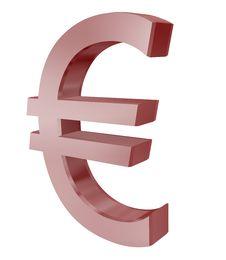 Free Euro Symbol Royalty Free Stock Photography - 13822427