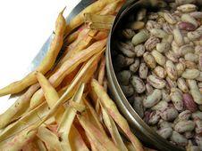 White Kidney Beans Four Stock Image