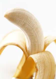 Free Peeled Banana Stock Photography - 13822562