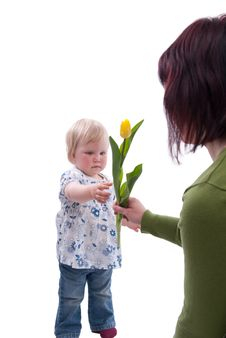 Free Mothers Day Royalty Free Stock Image - 13822566