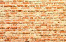 Free Wall Of Fire-bricks Stock Photo - 13822630
