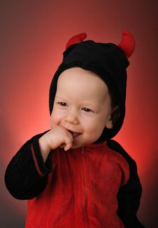 Free Little Devil Stock Photography - 13822742