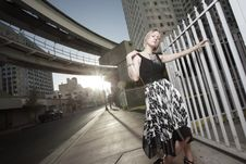 Free Woman Posing In The City Royalty Free Stock Images - 13823059
