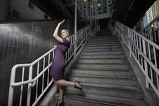 Free Woman In An Urban Setting Stock Photography - 13823142