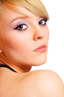 Free Beautiful Young Blond Woman Royalty Free Stock Photography - 13823607
