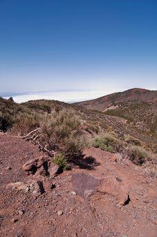 Free Volcanic Landscape - Mount Teide, Tenerife Stock Photography - 13823642