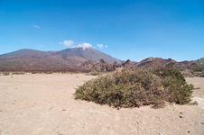 Volcanic Landscape - Mount Teide, Tenerife Stock Photography