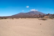 Volcanic Landscape - Mount Teide, Tenerife Stock Image