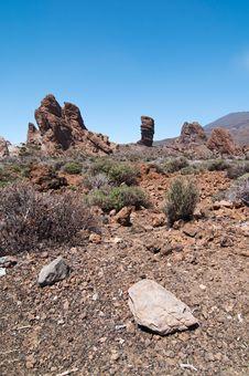 Free Volcanic Landscape - Mount Teide, Tenerife Stock Images - 13823724