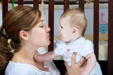 Free Mother And Baby Royalty Free Stock Photo - 13824355