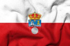 3D Flag Of Cantabria Stock Images