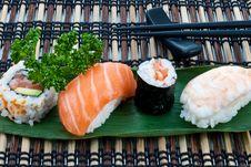 Free Sushi Stock Image - 13824711