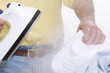 Free Ironing Stock Image - 13824851