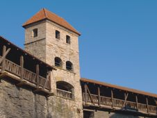Free Fortification In Medieval Tallinn Stock Photography - 13825512
