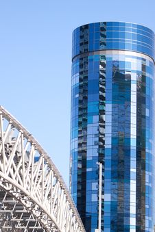 Free Monorail In The City Royalty Free Stock Photo - 13825745
