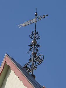 Free Wind-vane Of Ancient City Stock Images - 13825794