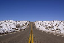 Free Desert Road Royalty Free Stock Photo - 13825835