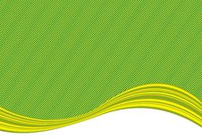 Free Green Stripe Background And Curve Royalty Free Stock Image - 13826046