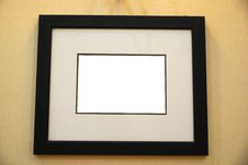 Free Black Photo Frame Stock Image - 13826891