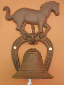 Horse Bell Royalty Free Stock Photography