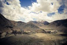 Free Himalaya, Nubra Valley. Stock Image - 13827091