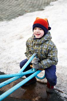 Free Boy On A Walk Stock Photography - 13827172