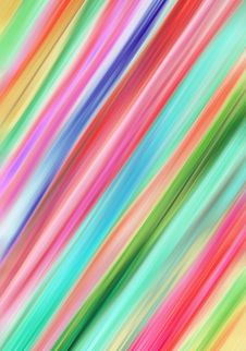 Free Blurred Colored Motion Lines Royalty Free Stock Photos - 13827468