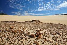 Free Desert On A Fraser Island Stock Images - 13827484