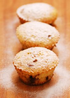 Free Freshly Baked Muffins Royalty Free Stock Image - 13828126