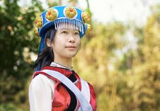 Free Chinese Naxi Woman Royalty Free Stock Images - 13828819