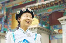 Free Chinese Naxi Woman Royalty Free Stock Images - 13829009
