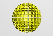 Free Gold Sphere Stock Image - 13829301