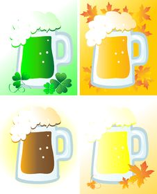 Free Beer Royalty Free Stock Image - 13829586